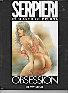 Obsession In Search Of Druuna Serpieri 1996 Heavy Metal HC 72pp FN/VF 1882931238