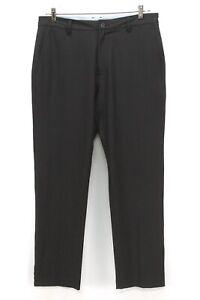 mens black FOOTJOY performance golf pants trouser tour fit stretch 34 x 30