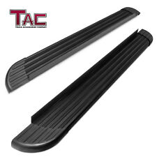 Aluminum Black Running Board for 2006-2018 Toyota RAV4 Side Step Rail Nerf Bar