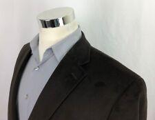 Chaps Ralph Lauren Brown Herringbone Sport Coat Mens 44 R 2 Button Blazer Jacket