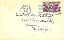 US FDC Sc # 775 Michigan Centenary - US 8162