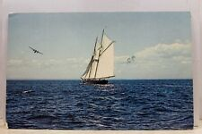 Canada Quebec Montreal Expo 67 Bluenose II Postcard Old Vintage Card View Post