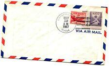Alaska Airlines First Flight Unalakleset - Kotzebue Alaska - 1967