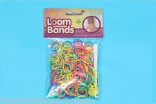 900 Stripey Loom Bands With S Clasp and 1 Hook LB1