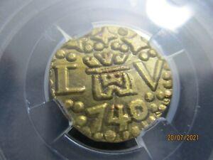 1 escudo 1740 Lima, Peru, Phillipus V, very rare