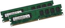2x 1GB 2GB für DELL Dimension 3100 Speicher RAM DDR2 PC2-4200 DDR2-533Mhz 240pin