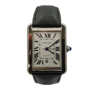Pre-Owned Cartier Tank Solo XL WSTA0029 Swiss Made Watch