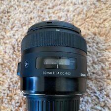 Sigma 30mm f/1.4 DC HSM ART Lens for Canon EOS DSLR Camera