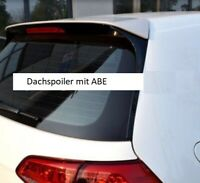 VW Golf 7 Heckspoiler Dachspoiler VII Heckflügel im GTD GTI R Look