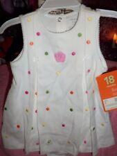 NWT CARTERS SZ 18MO BOUTIQUE 1PC BUBBLE TYPE DRESS