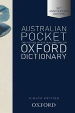 Australian Pocket Oxford Dictionary 8ed by Mark Gwynn Hardcover