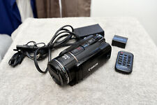 Canon VIXIA HF S200 HD Camcorder w Extra Battery and Remote