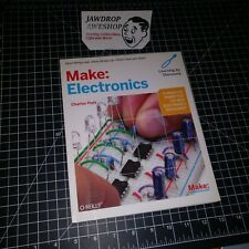 MAKE ELECTRONICS CHARLES PLATT LEARNING BY DISCOVERY O'REILLY PAPERBACK BOOK