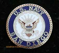 SAN DIEGO NAVAL BASE HAT PIN US NAVY BOOT CAMP USS NTC MOM DAD GRAUDATION GIFT