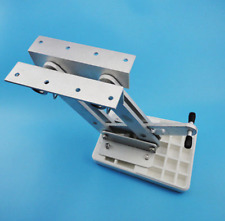 Outboard Motor Mount Bracket Mounting Board Boat Trolling Dingy Marine Auxiliary