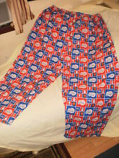 """Home made, men's """"Los Angeles Clippers"""" pajama bottoms/pants, BIG, size 48/34"""