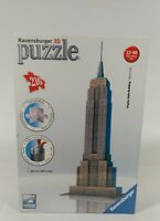 Ravensburger Empire State Building 3D Puzzle 216 Pc Jigsaw Statue Model SEALED