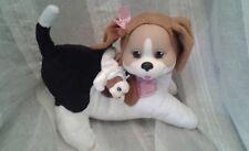 2016 Puppy Suprise DOG plush with 1 Puppy GUC
