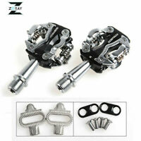 ZERAY MTB Road Bike Self-lock Clipless Pedals with SPD Compatible Bicycle Pedals