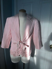 together jacket pink very cute 6 new                #257