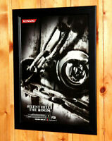 Silent Hill 4 The Room Small Poster / Vintage Ad Page Framed PS2 Xbox Konami