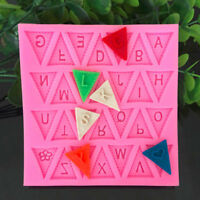 Cooking Flag Shape 26 Letters Silicone Mold Chocolate Cake Tools.ÁÍ