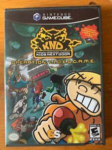 KND Codename Kids Next Door Operation Videogame (Nintendo Gamecube)*Like New*