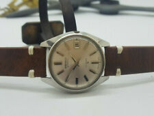 USED VINTAGE SEIKO SILVER DIAL DATE AUTOMATIC MAN'S WATCH