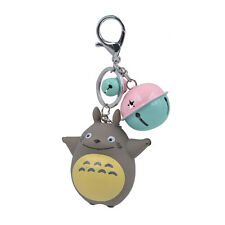 My Neighbor Totoro Porte-clé Gris Kawaii Clochette Pendentif Sac Accessories 1Pc