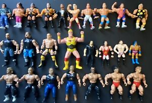 Vintage Wrestling Figure Lot WWF WCW AWA HASBRO REMCO OSFTM LJN