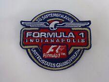 2003 Formula-1 United States Grand Prix Event Collector Patch Schumacher Ferrari