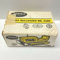 1960's Tonka Bulldozer No. 2300 Box, Box Only