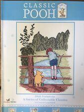 Classic Winnie The Pooh Poohsticks Cross Stitch Pattern