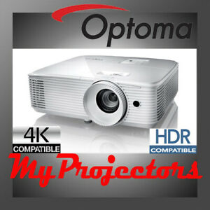 OPTOMA HD30HDR HOME THEATER PROJECTOR 4K HDR COMPATIBLE SPORTS GAMING MOVIES