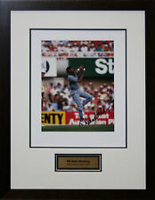 West Indian Cricket Great Michael Holding signed photo Framed