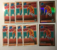 2018-19 Panini Optic Justin Kluivert Rated Rookie RC Holo Silver lot10