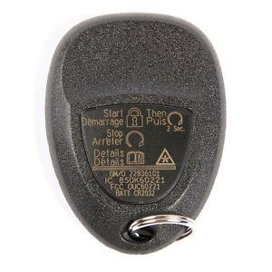 Remote Lock Control Or Fob ACDelco GM Original Equipment 22936101