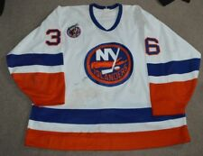 Gary Nylund New York Islanders 1992-93 Game Worn Jersey Patched Photomatched bdf42f3ba