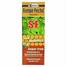 Rompe Pecho Sugar Free Cough Syrup 6 oz (Pack of 3)
