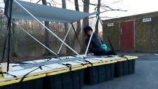 Porta-Pontoon Pontoon Boat Portable Folding Collapsible FREE Shipping SEE VIDEOS