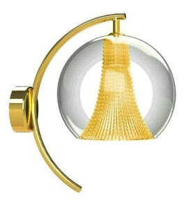 Lampshade Wall Applique for Indoor Modern Crystal Of Bohemian Home 1 LED Bulb