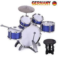 Kinderschlagzeug Schlagzeug Drum Set Kindertrommel 5 Trommeln 1 Becken