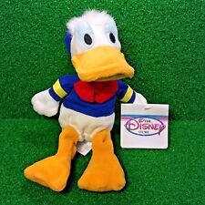 NEW Disney Store Exclusive Mini Bean Bag DONALD The DUCK Plush Toy FREE Shipping