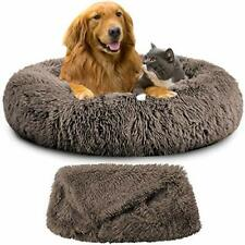 New listing Oxs Dog Beds Calming Pet Bed for Large Medium Small Dogs L/Xl/Xxl/Xxxl Washab.