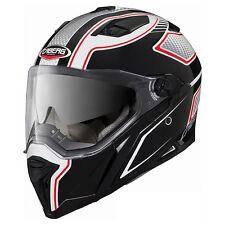 Casco Caberg Stunt blade negro-blanco-rojo talla L