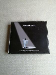 RENATO ZERO - AMORE DOPO AMORE TOUR DOPO TOUR - 2CD - EX++/EX++