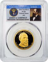 2011 P James A Garfield Dollar Presidential 25 Coin BU Unc String /& Son $25 Roll