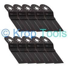 10 Multi Tool Blades Erbauer Makita Milwaukee 35mm Standard Wood by KROP