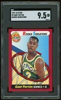 1991-92 Fleer Rookie Sensations #9 Gary Payton RC SGC 9.5 = PSA 10? Insert