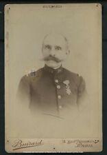 Vintage French German Spy Dreyfus Affair Ferdinand Esterhazy Cabinet Card c 1898
